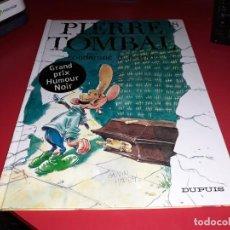Cómics: PIERRE TOMBAL : CONDAMNÈ Á PERPÉTE GRAND PRIX HUMOUR NOIR EDITORIAL DUPUIS 2000 FRANÇAIS. Lote 165160054