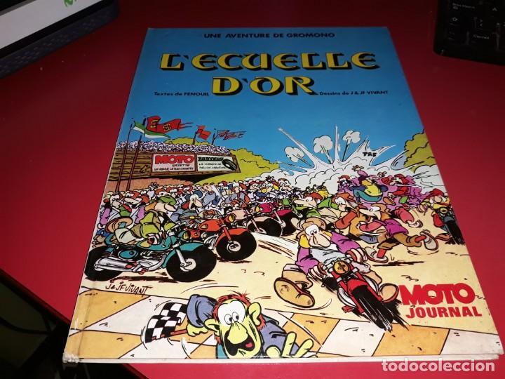 L´ECUELLE D´OR : UNE AVENTURE DE GROMONO MOTO JOURNAL 1974 FRANÇAIS (Tebeos y Comics - Comics Lengua Extranjera - Comics Europeos)