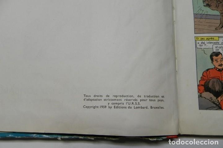 Cómics: LES AVENTURES DE DAN COOPER. LE MUR DU SILENCE - A. WEINBERG (LOMBARD, 1959) - Foto 5 - 47371494