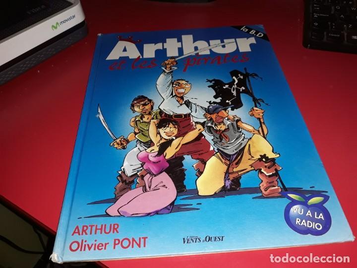 ARTHUR ET LES PIRATES LA B.D. VU LA RADIO EDITIONS VENTS D´OUEST FRANÇAIS (Tebeos y Comics - Comics Lengua Extranjera - Comics Europeos)