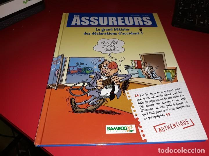 LES ASSUREURS Nº 1 BAMBOO 2005 FRANÇAIS (Tebeos y Comics - Comics Lengua Extranjera - Comics Europeos)