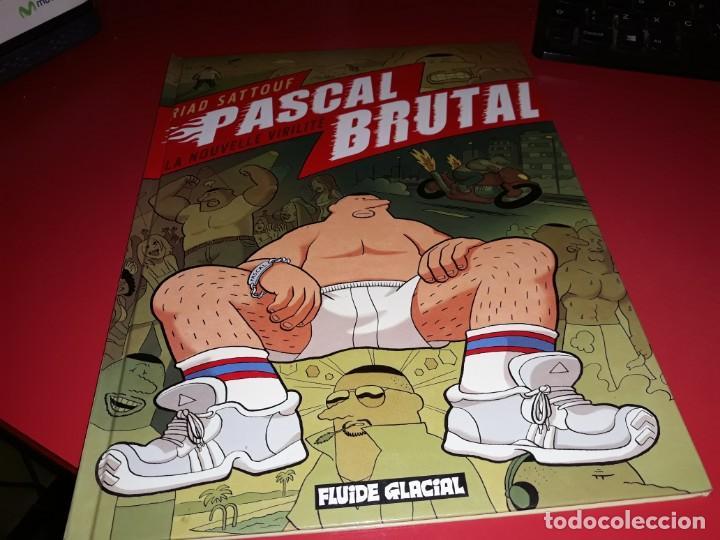 PASCAL BRUTAL LA NOUVELLE VIRILITÉ FLUIDE GLACIAL 2008 FRANÇAIS (Tebeos y Comics - Comics Lengua Extranjera - Comics Europeos)