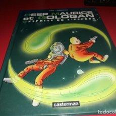 Cómics: DEEP MAURICE ET GOLOGAN 3 ESPRITS DE L´ESPACE CASTERMAN 2003 FRANÇAIS. Lote 165215114