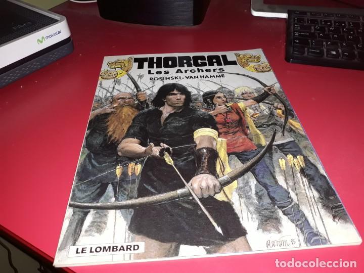 THORGAL LES ARCHERS ROSINSKI-VAN HAMME LE LOMBARD 1999 FRANÇAIS (Tebeos y Comics - Comics Lengua Extranjera - Comics Europeos)