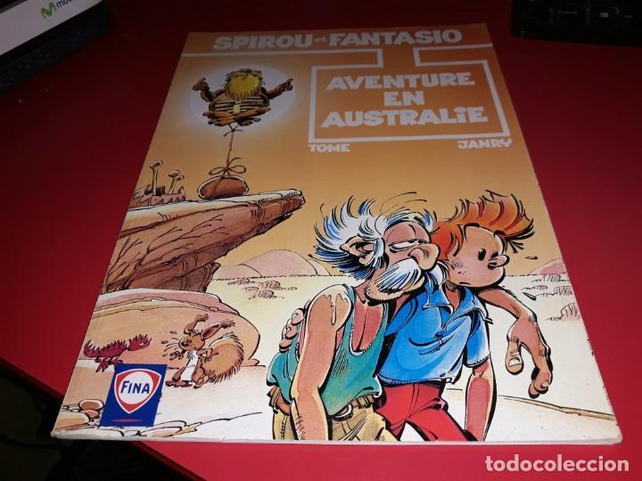 SPIROU ET FANTASIO AVENTURE EN AUSTRALIE FINA 1997 FRANÇAIS (Tebeos y Comics - Comics Lengua Extranjera - Comics Europeos)