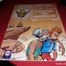 Cómics: SPIROU ET FANTASIO AVENTURE EN AUSTRALIE FINA 1997 FRANÇAIS. Lote 165217906