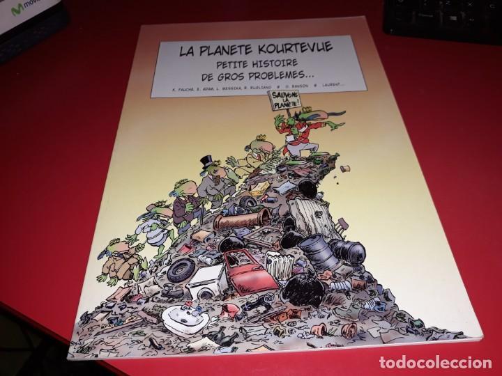 LA PLANETE KOURTEVUE: PETITE HISTOIRE DE GROS PROBLEMES... FRANÇAIS (Tebeos y Comics - Comics Lengua Extranjera - Comics Europeos)