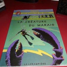 Cómics: LES AVENTURES DE CÉSAR : LA CRÉATURE DU MARAIS LA LORAMPIÈRE FRANÇAIS. Lote 165224150