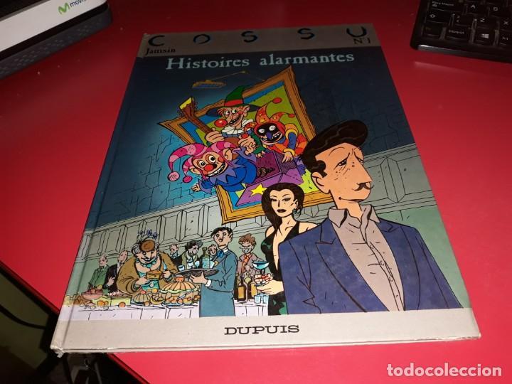 COSSU Nº 1 HISTOIRES ALARMANTES DUPUIS 1987 FRANÇAIS (Tebeos y Comics - Comics Lengua Extranjera - Comics Europeos)