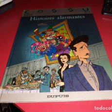 Cómics: COSSU Nº 1 HISTOIRES ALARMANTES DUPUIS 1987 FRANÇAIS. Lote 165225806