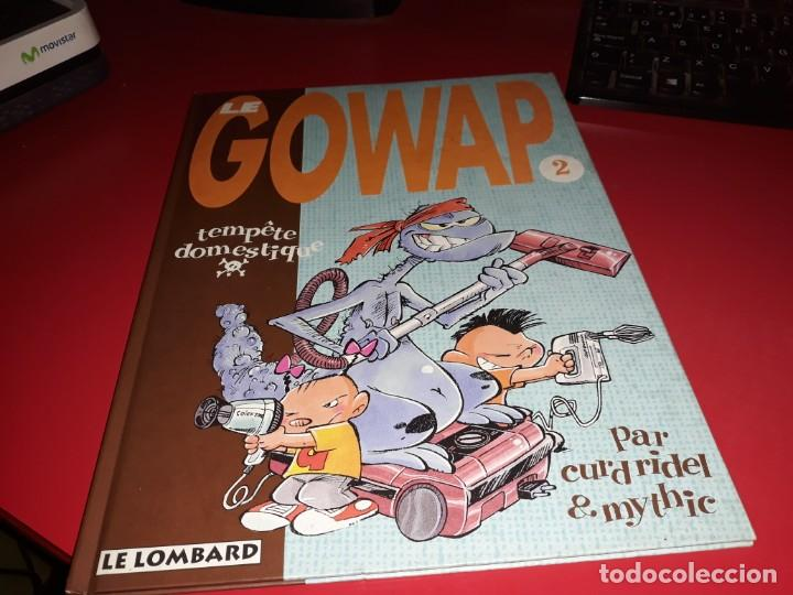 LE GOWAP 2 TEMPÈTE DOMESTIQUE PAR CUR RIDEL & MYTHIC LE LOMBARD 1997 FRANÇAIS (Tebeos y Comics - Comics Lengua Extranjera - Comics Europeos)