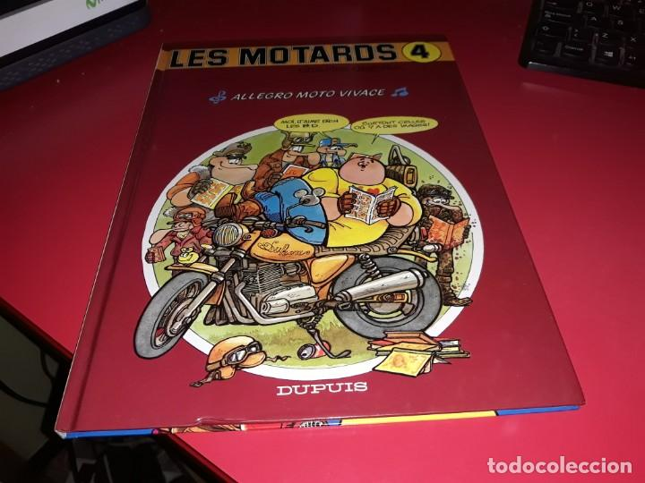 LES MOTARDS Nº 4 ALLEGRO MOTO VIVACE DUPUIS 1988 FRANÇAIS (Tebeos y Comics - Comics Lengua Extranjera - Comics Europeos)