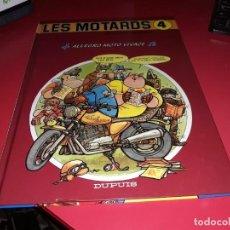 Cómics: LES MOTARDS Nº 4 ALLEGRO MOTO VIVACE DUPUIS 1988 FRANÇAIS. Lote 165227782