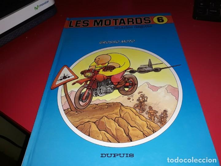 LES MOTARDS Nº 6 GROSSO MOTO DUPUIS 1992 FRANÇAIS (Tebeos y Comics - Comics Lengua Extranjera - Comics Europeos)