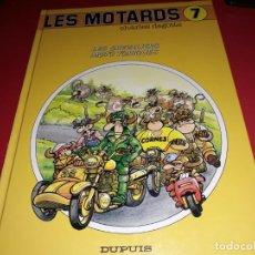 Cómics: LES MOTARDS Nº 7 LES CHEVALIERS MOTO TONIQUES DUPUIS 1991 FRANÇAIS. Lote 165229262