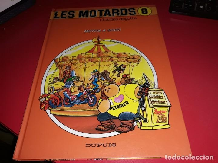 LES MOTARDS Nº 8 MOTOS A GOGO DUPUIS 1992 FRANÇAIS (Tebeos y Comics - Comics Lengua Extranjera - Comics Europeos)