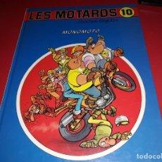 Cómics: LES MOTARDS Nº 10 MONOMOTO DUPUIS 1993 FRANÇAIS. Lote 165230470
