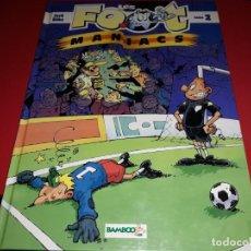 Cómics: LES FOOT MANIACS Nº 2 BAMBOO 2004 FRANÇAIS. Lote 165231594