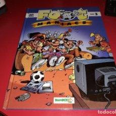 Cómics: LES FOOT MANIACS Nº 3 BAMBOO 2004 FRANÇAIS. Lote 165231930