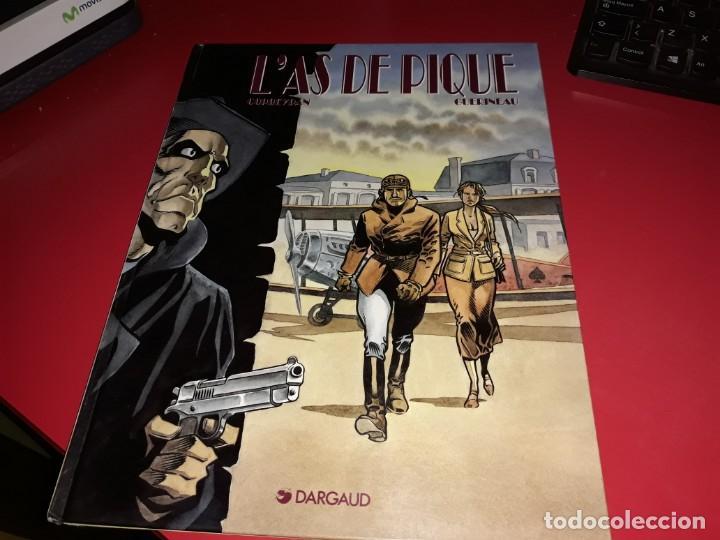 L´AS DE PIQUE DARGAUD 1994 FRANÇAIS (Tebeos y Comics - Comics Lengua Extranjera - Comics Europeos)