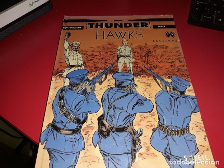 THUNDER HAWKS T3 LACRIMAS SOLEIL 1995 FRANÇAIS (Tebeos y Comics - Comics Lengua Extranjera - Comics Europeos)