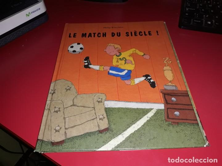 LE MATCH DU SIÈCLE! PHILIP WACHTER 1998 PICCOLIA FRANÇAIS (Tebeos y Comics - Comics Lengua Extranjera - Comics Europeos)