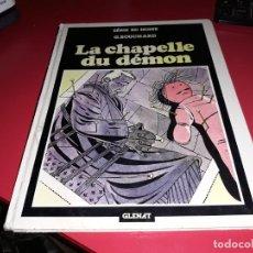 Cómics: LA CHAPELLE DU DÉMON SÉRIE BD NOIRE GLENAT 1981 FRANÇAIS. Lote 165245106