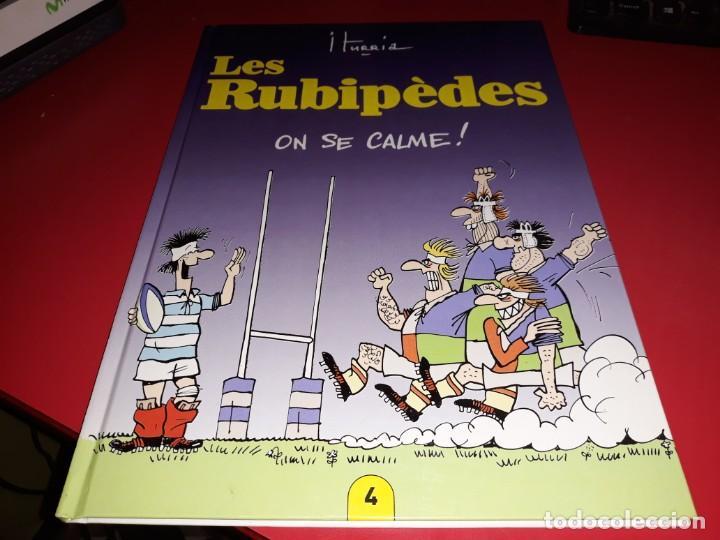 LES RUBIPÈDES Nº 4 ON SE CALME! ITURRIA FRANÇAIS (Tebeos y Comics - Comics Lengua Extranjera - Comics Europeos)