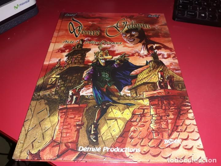 DESIRÉ GALOPIN 1 DRÔLES D´OISEAUX DEMGÉ PRODUCTIONS 2003 FRANÇAIS (Tebeos y Comics - Comics Lengua Extranjera - Comics Europeos)