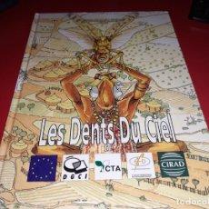 Cómics: LES DENTS DU CIEL II CIRAD GERDAT PRIFAS 1996 FRANÇAIS. Lote 165295942