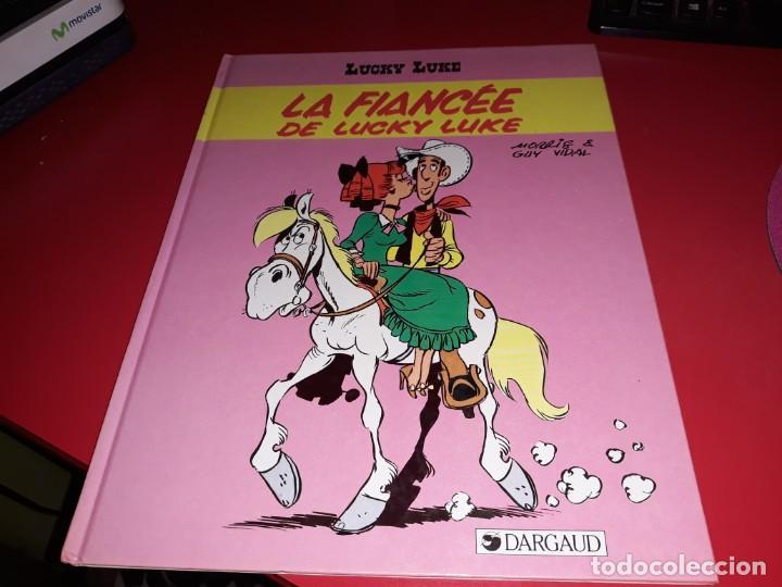 LUCKY LUKE LA FIANCÉE DE LUCKY LUKE DARGAUD 1985 FRANÇAIS (Tebeos y Comics - Comics Lengua Extranjera - Comics Europeos)