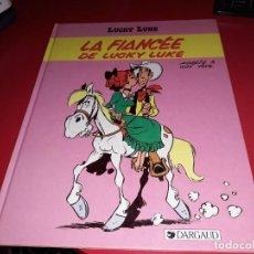 Cómics: LUCKY LUKE LA FIANCÉE DE LUCKY LUKE DARGAUD 1985 FRANÇAIS. Lote 165297454