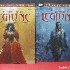 Cómics: LE CRONACHE DI LEGIONE. VOLUME I Y II. PANINI COMICS. COLLEZIONE 100 %. Lote 165349502