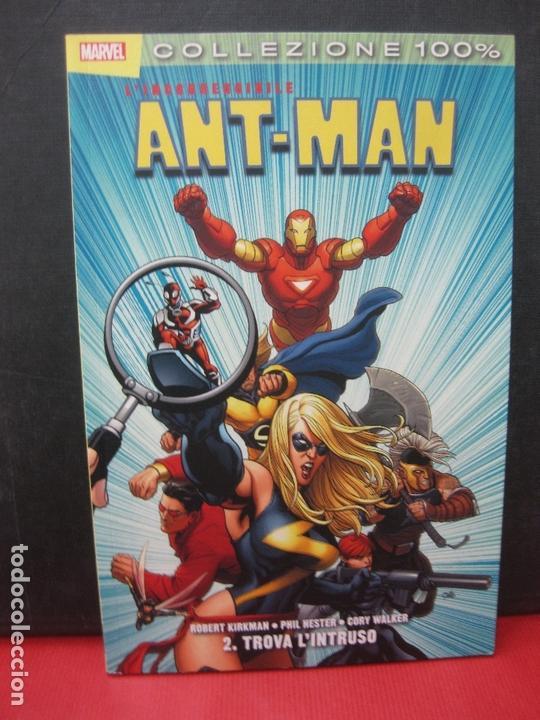 L'INCORREGGIBILE ANT-MAN 2. TROVA L'INTRUSO. PANINI COMICS. COLLEZIONE 100 % (Tebeos y Comics - Comics Lengua Extranjera - Comics Europeos)