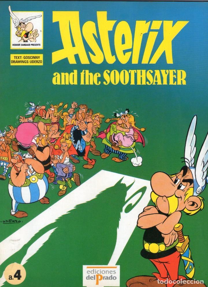 ASTERIX AND THE SOOTHSAYER - GOSCINNY - UDERZO - EN INGLÉS - EDICIONES DEL PRADO - AÑO 1989. (Tebeos y Comics - Comics Lengua Extranjera - Comics Europeos)
