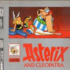 Cómics: ASTERIX AND CLEOPATRA - GOSCINNY - UDERZO - EN INGLÉS - EDICIONES DEL PRADO - AÑO 1989.. Lote 166395414