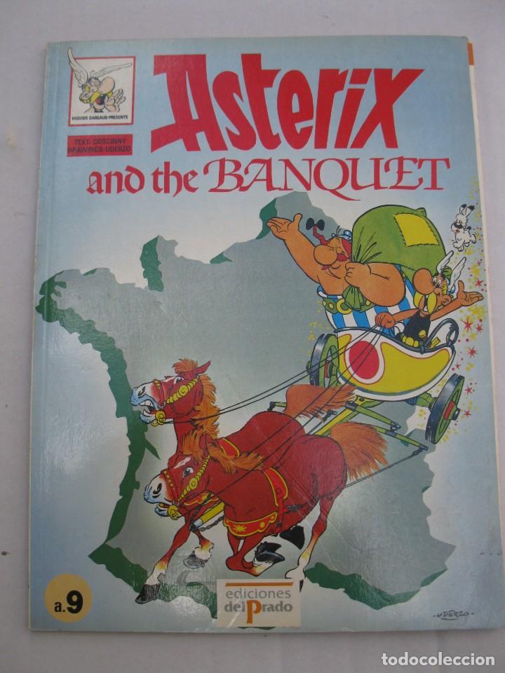 ASTERIX AND THE BANQUET - GOSCINNY - UDERZO - EN INGLÉS - EDICIONES DEL PRADO - AÑO 1989. (Tebeos y Comics - Comics Lengua Extranjera - Comics Europeos)
