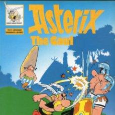 Cómics: ASTERIX THE GAUL - GOSCINNY - UDERZO - EN INGLÉS - EDICIONES DEL PRADO - AÑO 1989.. Lote 166396158