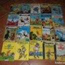 Cómics: LOTE 20 TEBEOS FRANCOBELGAS MUY ANTIGUOS CATALAN Y CASTELLANO JAIMES LIBROS. Lote 167703704