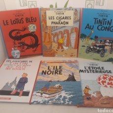 Cómics: LOTE DE TEBEOS.LES AVENTURES DE TINTIN.HERGÉ.CASTERMAN.. Lote 168279082
