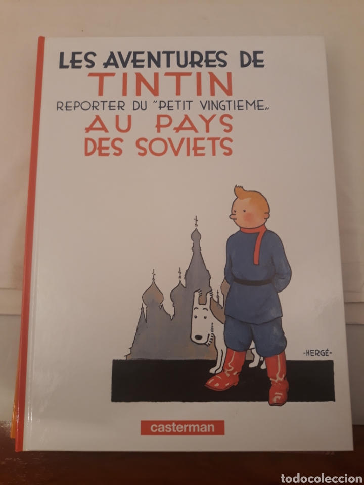 Cómics: Lote de tebeos.Les aventures de tintin.Hergé.Casterman. - Foto 6 - 168279082