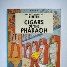 Cómics: THE ADVENTURES OF TINTIN - CIGARS OF THE PHARAOH - HERGÉ - EDICIONES DEL PRADO. Lote 168480208
