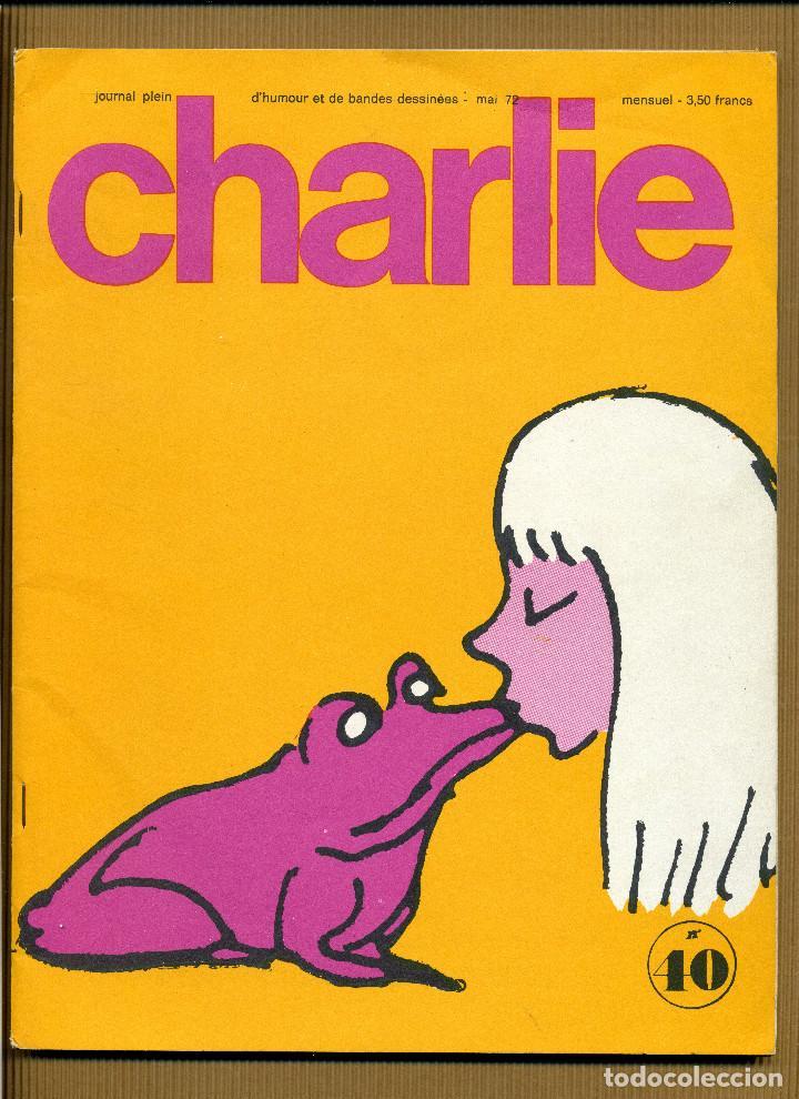 CHARLIE MENSUEL JOURNAL PLEIN D'HUMOUR Nº 40 - FRANCIA (Tebeos y Comics - Comics Lengua Extranjera - Comics Europeos)