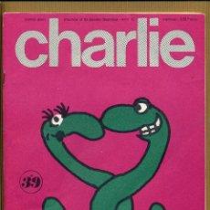 Cómics: CHARLIE MENSUEL JOURNAL PLEIN D'HUMOUR Nº 39 - FRANCIA. Lote 168631768