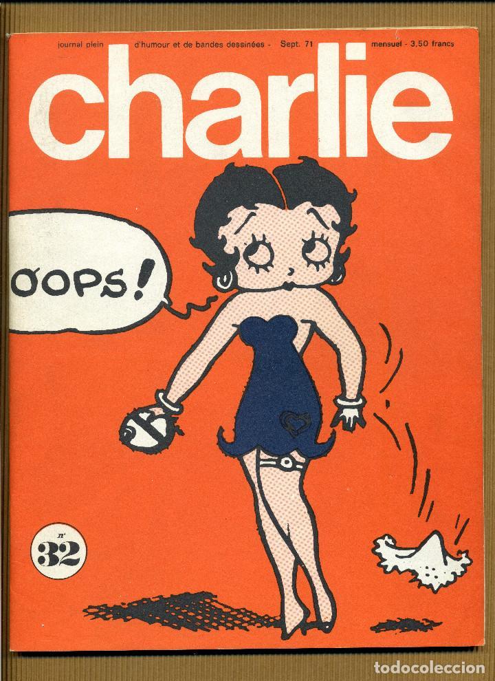 CHARLIE MENSUEL JOURNAL PLEIN D'HUMOUR Nº 32 - FRANCIA (Tebeos y Comics - Comics Lengua Extranjera - Comics Europeos)