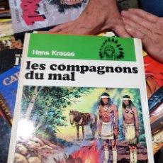 Cómics: LES PEAUX ROUGES DE HANS KRESSE COLECCION COMPLETA DE 9 NUMEROS FALTA EL 6 EN FRANCES. Lote 168971968