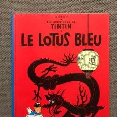 Cómics: CÓMIC. TINTIN, LE LOTUS BLEU, HERGE. EDICIÓN CASTERMAN (A.1974). Lote 169106906