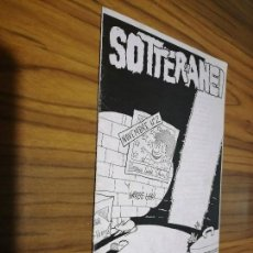 Cómics: SOTTERRANEI 2. AUTOPUBLICADO. EN ITALIANO. BUEN ESTADO. RARO. GRAPA. Lote 169138876