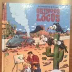 Cómics: GRINGOS LOCOS EN FRANCÉS - YANN Y SCHWARTZ DUPUIS. Lote 169663616