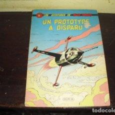 Cómics: LES AVENTURES DE BUCK DANNY - UN PROTOTYPE A DISPARU - AÑO 1960. Lote 169673616